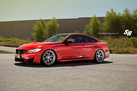 red bmw m4 stunning red bmw m4 by sr auto group