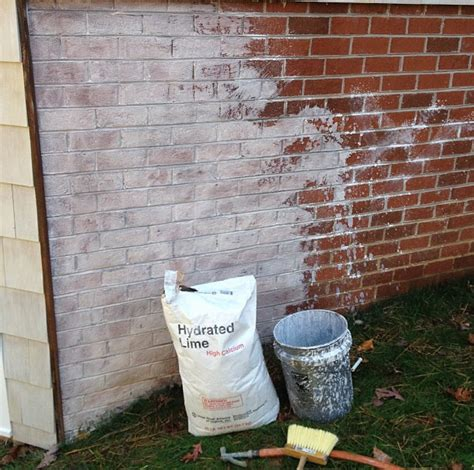 lime wash paint exterior limewash a great alternative to paint for brick home
