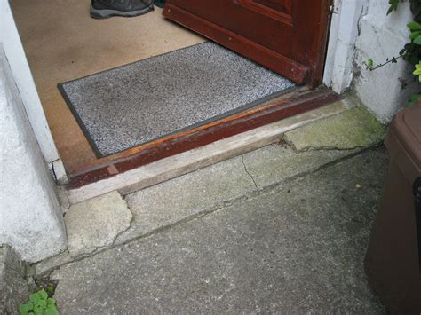 Replace Threshold Exterior Door Replace Front Door Threshold Repair Replace Front Door Threshold Carpentry Joinery In Cardiff