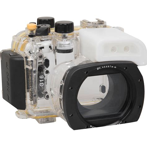 underwater housing for canon polaroid underwater housing for canon powershot g16 plwpcg16 b h