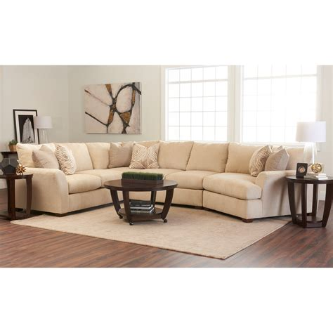 klaussner sectional sofa klaussner pinecrest pinecrest sectional with raf cuddler