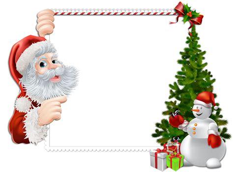 imagenes de santa claus zombie marcos de navidad para tus fotos gratis