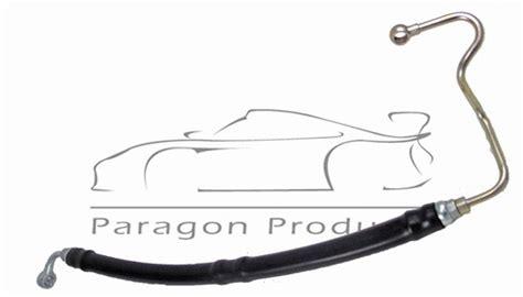 porsche      turbo   pressure side power steering hose