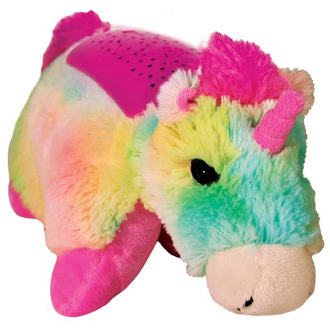 glow pets sparkling unicorn pillow pet snuggle up at