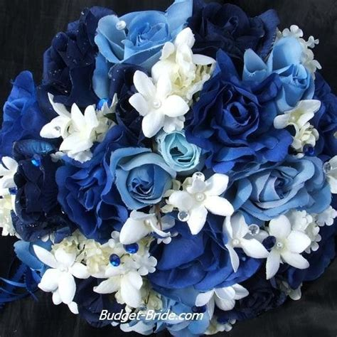 Blue Flower Wedding Bouquet by 14 Best Wedding Centerpieces Images On