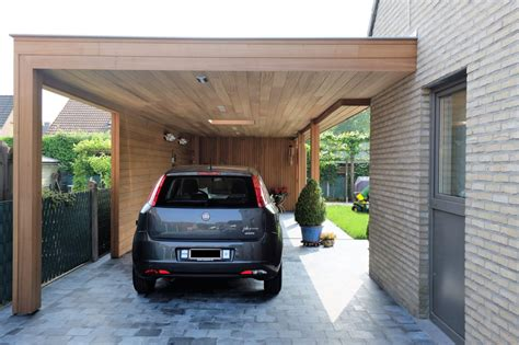 moderne carports moderne carport met loungeruimte en tuinberging ref vg