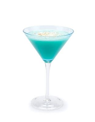 Blue Hawaiian Martini