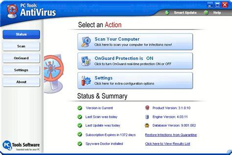 free full version antivirus for computer pc tools antivirus 9 1 0 2898 free edition free download
