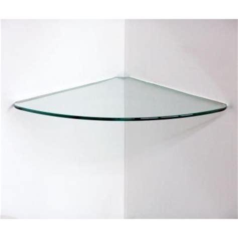 29 90 floating glass corner shelf for shower master