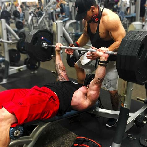 spartan bench press chest workout for massive pecs body spartan