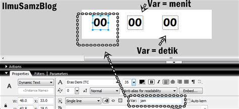 membuat jam digital dengan macromedia flash 8 tutorial membuat jam digital macromedia flash professional