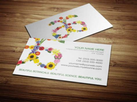 arbonne business card free template arbonne business cards on behance