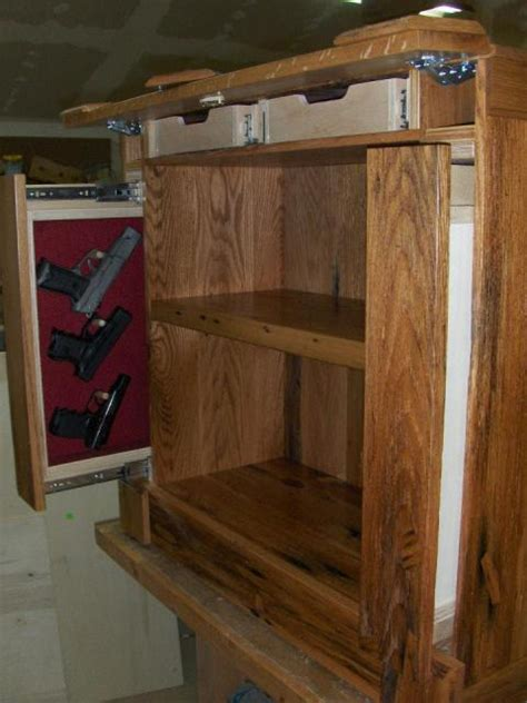 hidden gun cabinet bookcase secret gun storage in bookcase stashvault