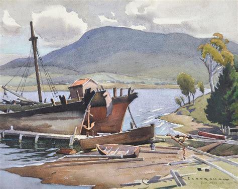 fishing boat auction melbourne works on paper john roy eldershaw page 2 australian