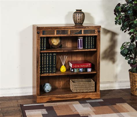 sunny designs sedona bookcase sunny designs sedona bookcase in rustic oak beyond stores