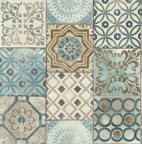 moroccan wallpaper peel and stick nextwall nextwall moroccan style peel and stick mosaic