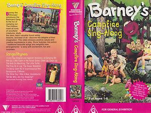 barney and the backyard gang cfire sing along image barney cfire sing along australian version jpeg