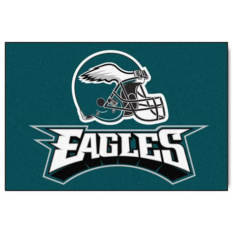philadelphia eagles outdoor coir mat philadelphia eagles logo doormat vinyl 18 x 30