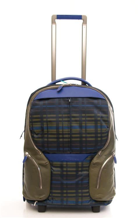 trolley porta zaino trolley zaino piquadro linea coleos bagaglio a mano