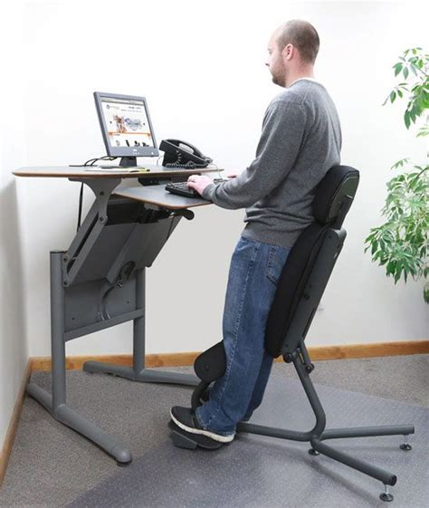 desks for standing best 25 standing desk chair ideas on standing