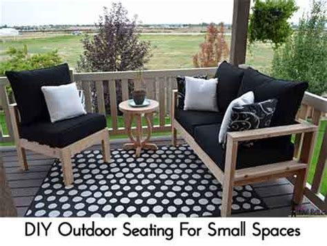 seating for small spaces diy outdoor seating for small spaces lil moo creations