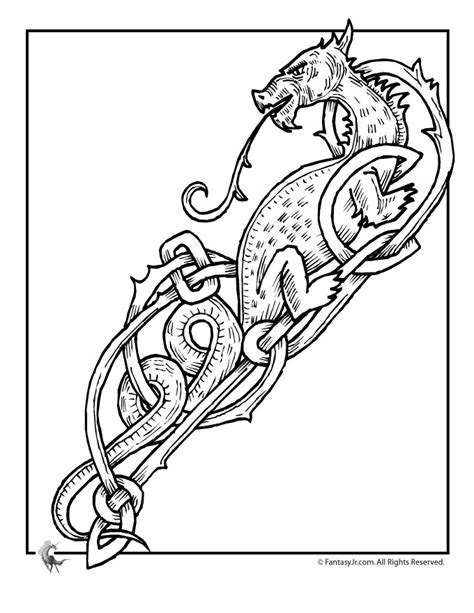 celtic animals coloring pages printable coloring pages