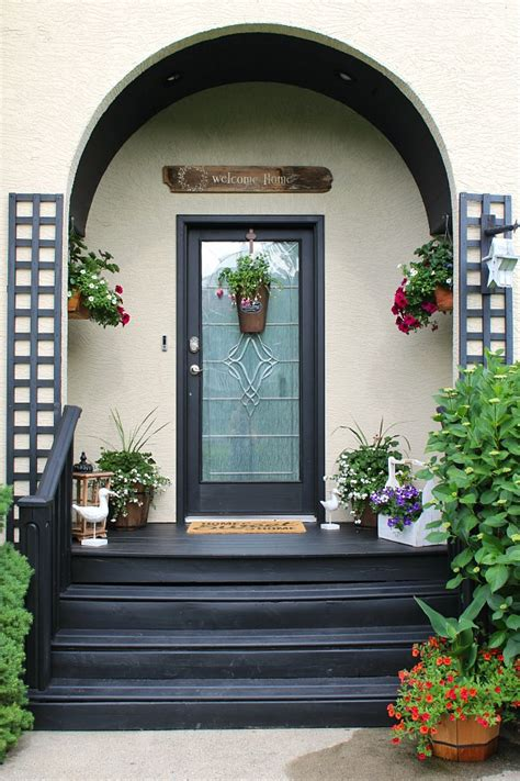 summer front porch decorating ideas clean  scentsible