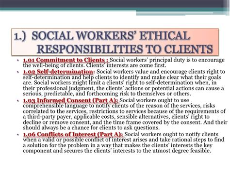 Building Work Psykology And Professional Ethics social work and psychology and the code of ethics