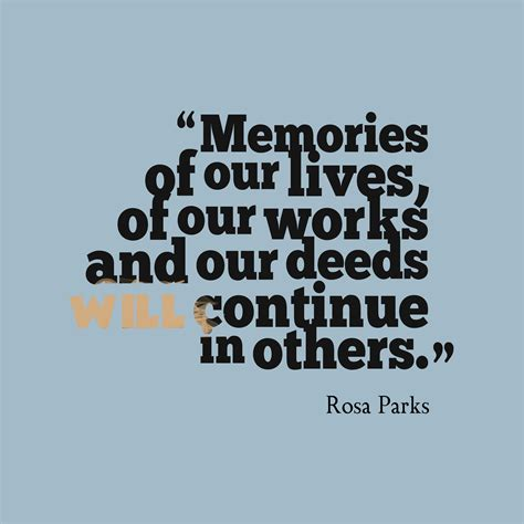 memory quotes picture 187 rosa parks quote about memory