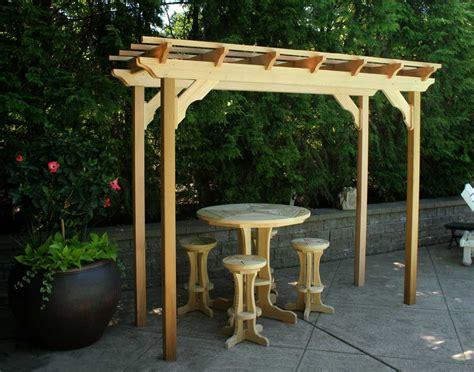 Free Standing Patio Plans Courtyard Pergola