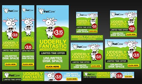 design google banner ads custom banner set for google adwords 15 sizes by