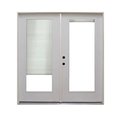 Retrofit Patio Door Steves Sons 72 In X 80 In Retrofit Prehung Primed White Steel Patio Door Stpmb Pr 72 4irh