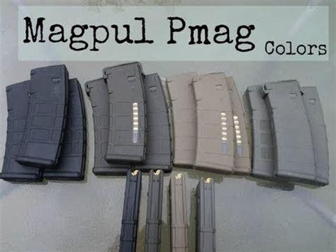 magpul colors magpul pmag all 4 colors