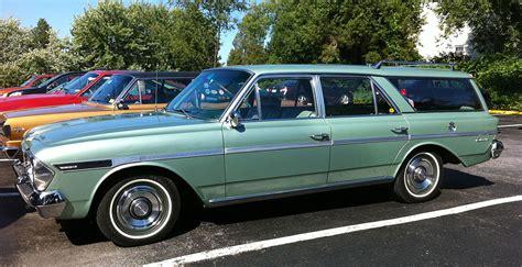 green rambler car http autoaddictsnet 1964 amc rambler 660 wagon green