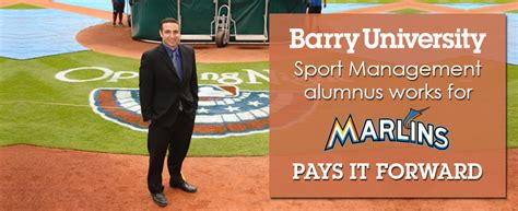 Barry Mba Sports Management by Alumni Relations Barry Miami Shores Florida