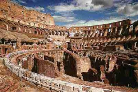 colosseo interno bramarte viaggio nella storia dell arte romani