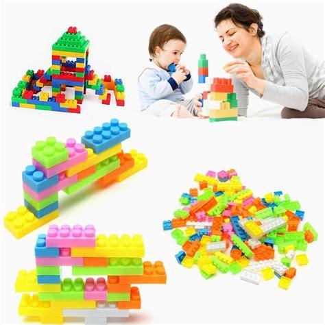 Building Blocks 83 Pcs 144pcs plastic building blocks bricks children