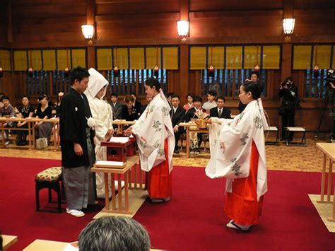 Wedding Ceremony In Japan by Japanese Wedding Ceremony Flickr Photo