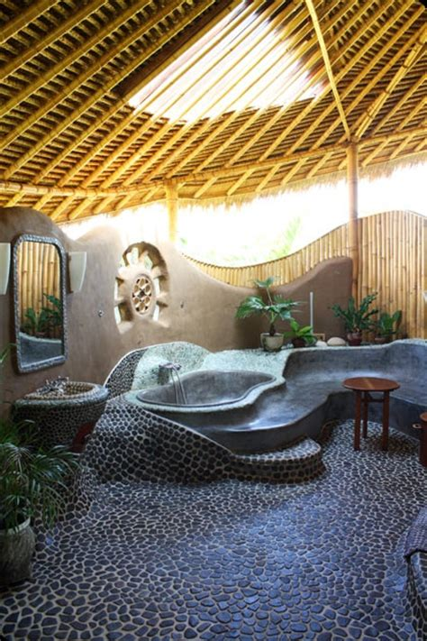 Strand Cottage Badezimmer by Strandhaus Auf Bali Indonesien Travel Friends