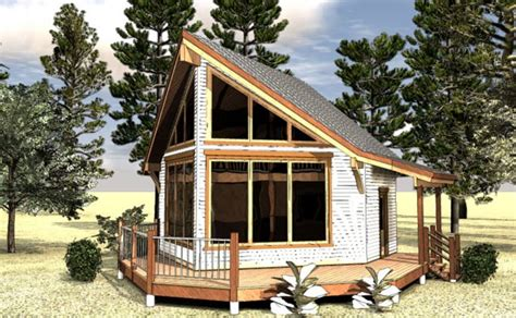 Small A Frame Cabin Plans With Loft by Small House Plans Small Cottage Home Plans Max