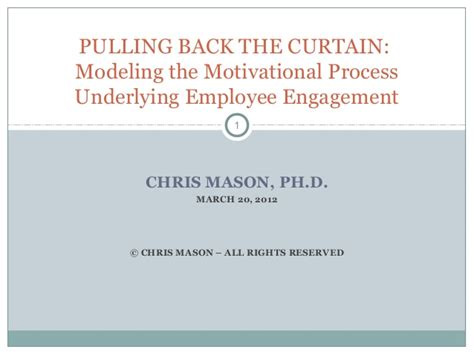 Mba Gmu Tuition by Modeling Employee Engagement A Ph D Dissertation Summary