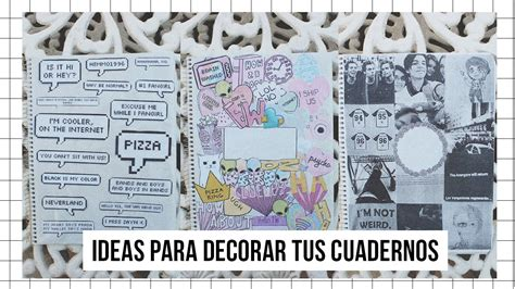 imagenes para decorar mis fotos ideas para decorar tus cuadernos estilo tumblr youtube