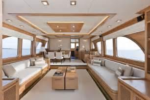 luxury yacht interiors vicem 78 cruiser interior superyacht yacht charter news