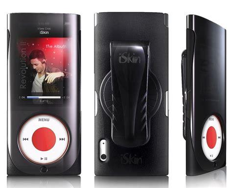 Iskin For The 2nd Generation Nano by Iskin Duo For Ipod Nano 5g W Belt Clip Black Nib N5g
