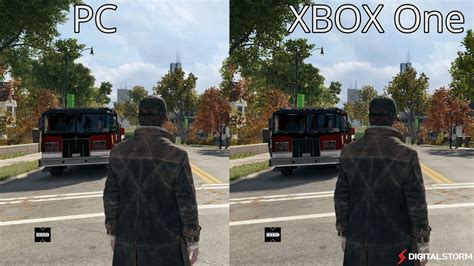 ones dogs dogs xbox one vs pc graphics comparison digital unlocked