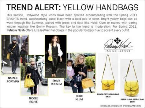 Trend Alert Winter Yellow by Trend Alert Yellow Handbags