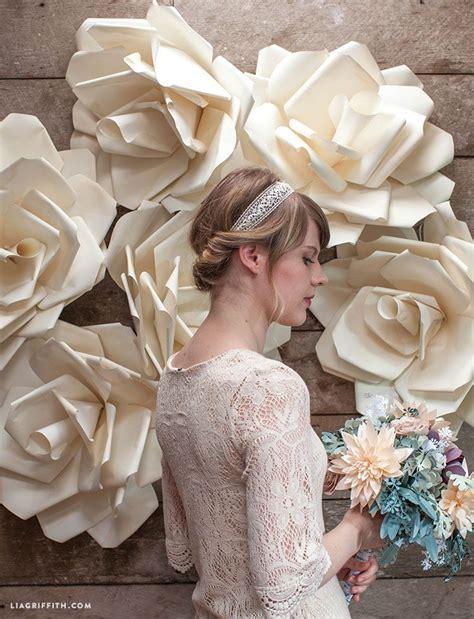 Jumbo Paper Flower Wedding Backdrop Video   Wedding, Diy
