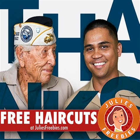 Great Clips Gift Card 2017 - free haircut for veterans and current military members at great clips julie s freebies