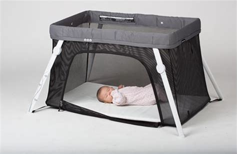 coolest baby cribs lotus everywhere crib puts quot travel quot back in travel crib