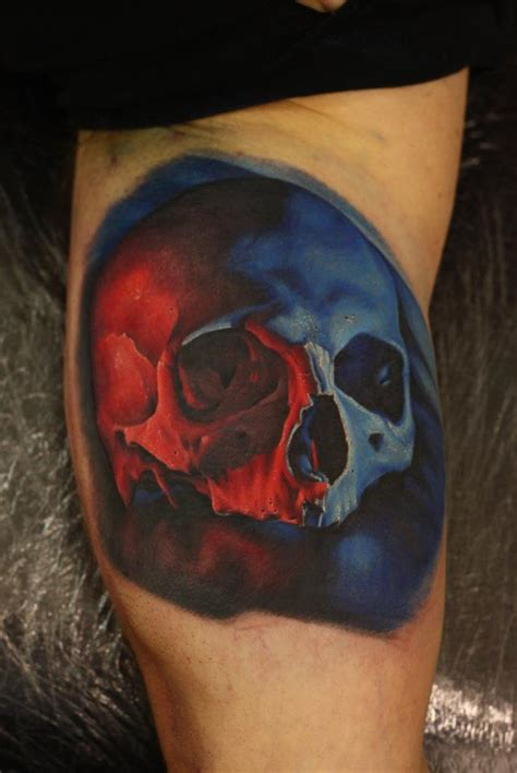 colorful skull tattoo designs 80 amazing exle of cool skull designs golfian